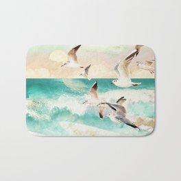 Summer Flight Bath Mat
