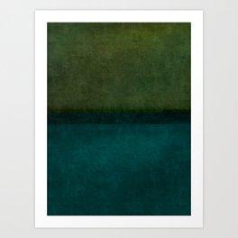 Imagining Rothko #12 Art Print