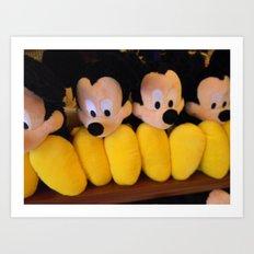 Mickey Moose. Art Print