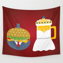 Burgers and Beer Wall Tapestry
