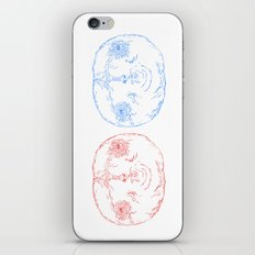 Red Shift iPhone & iPod Skin