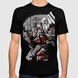 Zombie Rush (Gray Tone Version) T-shirt