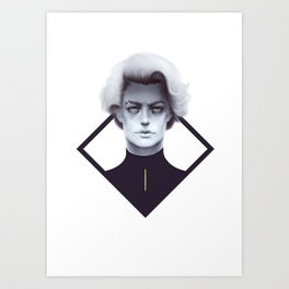 Gold and Gloom Art Print