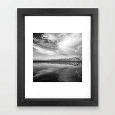 Puddle Interrupted Framed Art Print