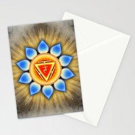 Manipura Chakra - Solar Plexus Chakra - Series IV Stationery Cards