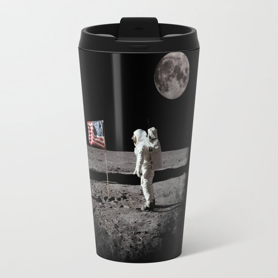 The Great Conspiracy: The Moon Is a Lie Travel Mug
