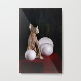 With white balls Metal Print