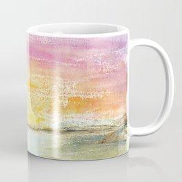 Magic Sunset Watercolor Art Coffee Mug