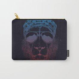 Wild lion (dark) Carry-All Pouch