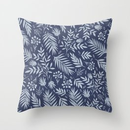 Just leaves 4 Throw Pillow