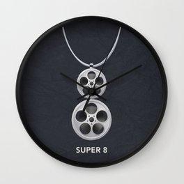 Super 8 01 Wall Clock