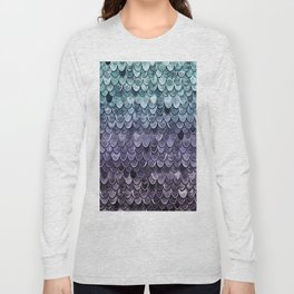 MAGIC MERMAID - MYSTIC TEAL-PURPLE Long Sleeve T-shirt