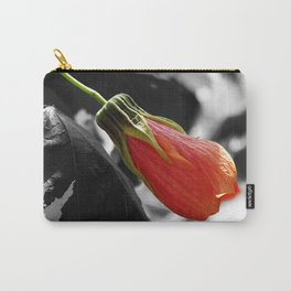Hibiscus Bud Carry-All Pouch