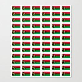 Flag of vanuatu -vanuatu,Ni-Vanuatu,Vanuatais,Vanuatuan,port vila. Canvas Print