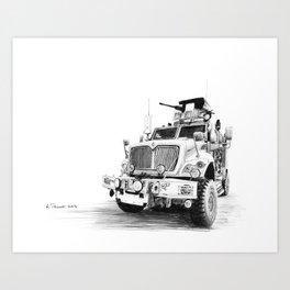 MRAP Art Print