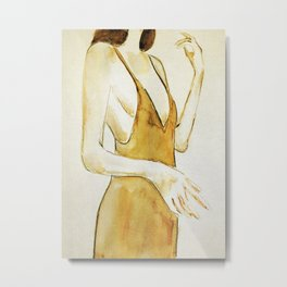 Girl 3 Metal Print