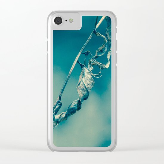 Tangled Spines Clear iPhone Case