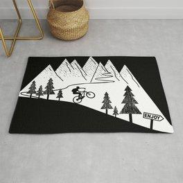 MTB Mountain Bike Downhill Cycling Rug