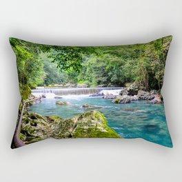 Blue River ||III|| Rectangular Pillow