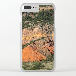 Palo Duro Canyon State Park Landscape Clear iPhone Case