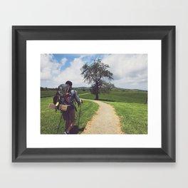 Through Farmlands •Appalachian Trail Framed Art Print