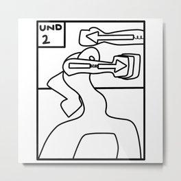 Round 12 Metal Print