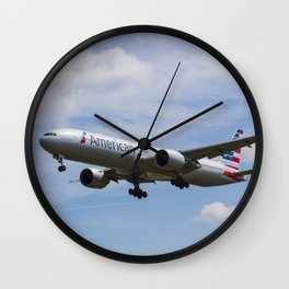 American Airlines Boeing 777 Wall Clock