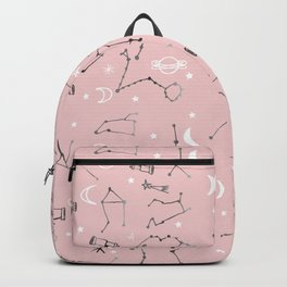 Astrology Pattern Pink #homedecor Backpack