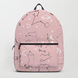 Astrology Pattern Pink #homedecor Backpack