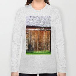 Open Barn Door Long Sleeve T-shirt