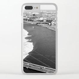 Düsseldorf Clear iPhone Case