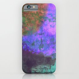 Unrest - Distressed Abstract iPhone Case