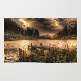 Loch Ard at Sunset Rug