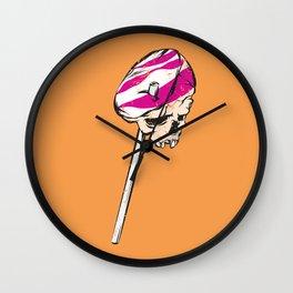 Sugar candy skull Wall Clock