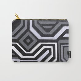 Rouge Black and White Variation Carry-All Pouch