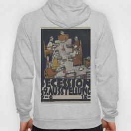 Egon Schiele - Secession 49. Exhibition Hoody