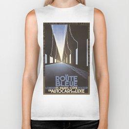 Vintage poster - La Route Bleue Biker Tank