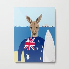 The Australian Metal Print