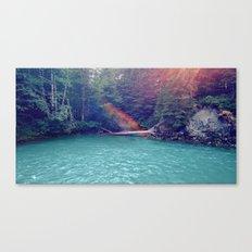 Sunshine Lagoon Canvas Print