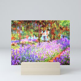 Monets Garden in Giverny Mini Art Print