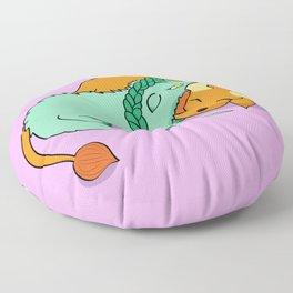 Dinku and Furret Floor Pillow