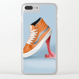 Vans funny moments Clear iPhone Case