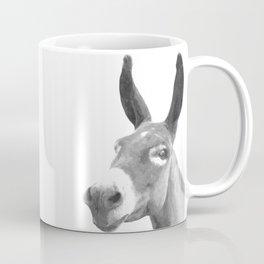 Black and white donkey Coffee Mug