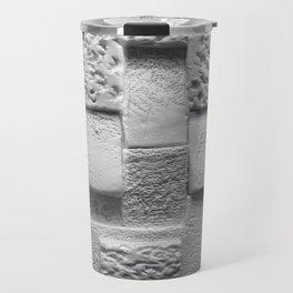 Aztec Brick Bas Relief Travel Mug