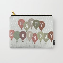 Vintage Birthday card Carry-All Pouch