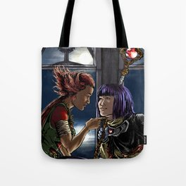 The beast and the priest Tote Bag