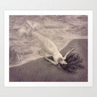 Mermaid Dream Art Print