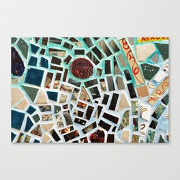 Glass Art in Philly Canvas Print