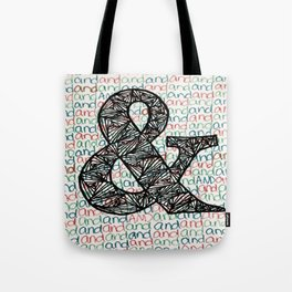 And Ampersand Tote Bag