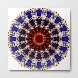 metamorphosis mandala Metal Print